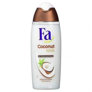 Fa Pflegeduschcreme Coconut Milk mit Kokosnuss Extrakt 250ml