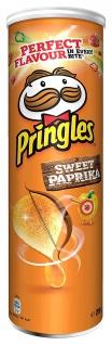 Pringles Sweet Paprika Stapelchips mit süsslichem Geschmack 200g