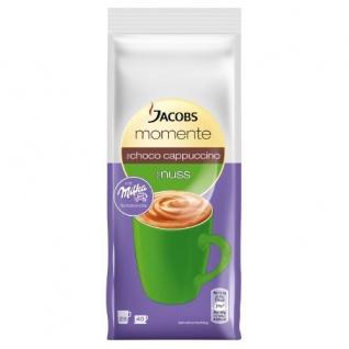Jacobs Milka Cappuccino Choco Nuss aromatisiertes Getränkepulver 500g