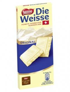 Nestle Die Weiße Schokolade 20 Stück Schokoladentafeln 100g 20er Pack