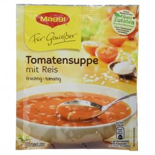 Tomatensuppe mit Reis Maggi Für Genießer fruchtig tomatig 80g