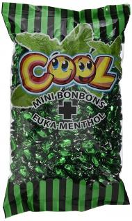 Cool Minibonbons Eukalyptus Menthol Geschmack einzeln verpackt 1000g