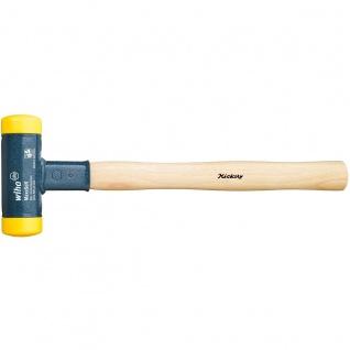 Wiha Premium Schonhammer rückschlagfrei mit Hickory Holzstiel 30mm
