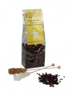 Sternzeichen Tee Jungfrau mit Kandiszucker Erdbeer Sahne 100g