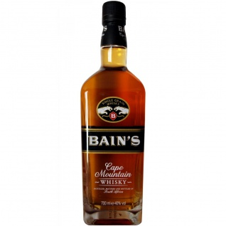 Bain's Cape Mountain Whisky Single Grain aus Südafrika 700ml