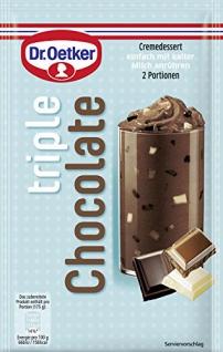 Dr. Oetker Trenddessert Triple Chocolate, 100g