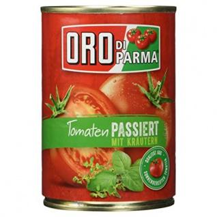 Oro di Parma Tomaten mit Kräutern passiert, 400ml