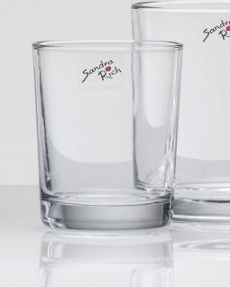 Glasvase Windlicht Tischvase von Sandra Rich Serie CYLI klar 11cm