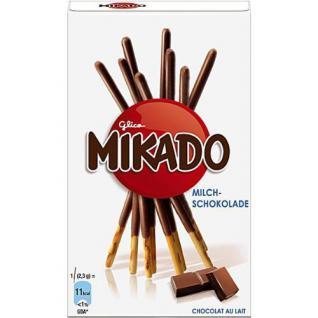 Mikado Milchschokolade Menge:75g