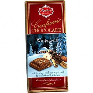 Reber Confiserie-Chocolade Winterzeit 100g