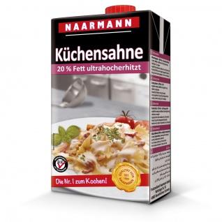 Küchensahne 20 Prozent ultrahocherhitzt Schraubverschluss 1000g