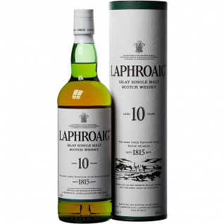Laphroaig 10 Jahre Islay Single Malt Scotch Whisky 1815 700ml