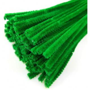 Meyco Chenilledraht Biegeplüsch Pfeiffenputzer grün 50cm 10 Stück