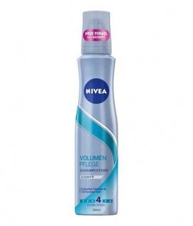 Nivea Schaumfestiger Volumen Kraft und Pflege sorgt für schönes Haar 150ml