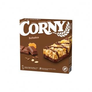 Corny Schoko Riegel Mandeln Erdnüssen und Bienenhonig 150g 5er Pack
