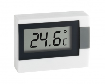 Thermometer elektro weiß