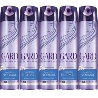 GARD Haarspray Normal zuverlässiger Halt volles Volumen 250ml 5er Pack
