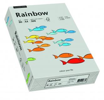 Kopierpapier Rainbow grau DIN A4