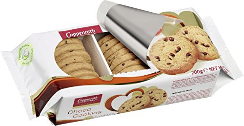 Coppenrath Hausgebäck Choco Cookies mit Stückchen aus Zartbitterschokolade 200g