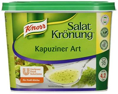 Knorr Salatkrönung Kapuziner Art 500g