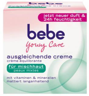 bebe Young Care 08480 - Ausgleichende Creme, 50ml - Vorschau