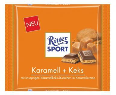 Ritter Sport Karamell Keks Menge:250g