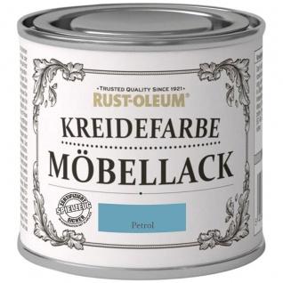 Rust Oleum Shabby Kreidefarbe Möbellack Petrol mattes Finish 125ml