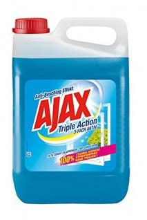 AJAX Glasreiniger 3-Fach Aktiv Streifenfrei Glasreinigung Kanister 5000ml