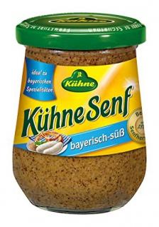 Kühne bayerisch-süß Senf 250ml