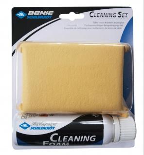 Reinigungsset Tischtennis Schwamm und Reinigungsschwamm reinigt