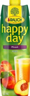 Rauch Happy Day Pfirsichfruchtsaft Pfirsichfruchtnektar 1000ml