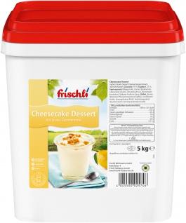 Frischli Cheesecake Dessertcreme ein neues Geschmackserlebnis 5000g