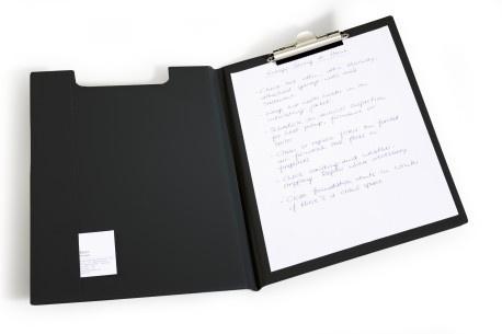 Blockmappe A4 Standard schwarz