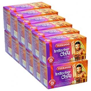 Teekanne Indischer Chai Classic würzig fernöstlich 12er Pack