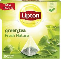 LIPTON Green Tea Fresh Nature Pyramidbeute