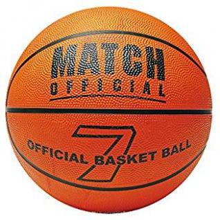 Basketball Match Größe 7 aufgeblasen aus Nylon gewickelt orange