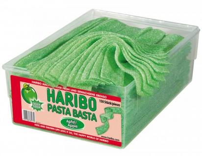 Haribo Pasta Basta Apfel Sour mit saurem Frucht Geschmack 1125g
