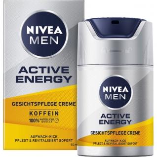 Nivea Men Gesichtspflege Creme Active Energy mit Aufwach Kick 50ml