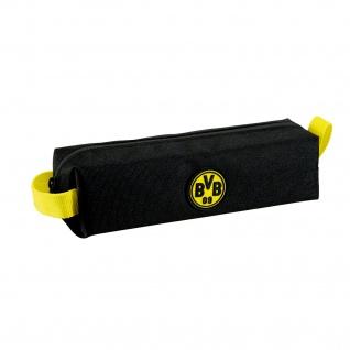 Faulenzermäppchen Borussia Dortmund aus Polyester gelbe Henkeln