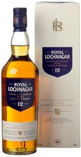 Royal Lochnagar 12 Jahre Single Malt Scotch Whisky mit Geschenkverpackung (1 x 0.7 l)