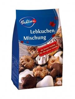 Bahlsen braune Lebkuchen Mischung mit Schokolade 6 fach sortiert 250g