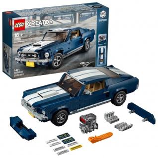 LEGO Creator Ford Mustang 10265 Entdecke den Zauber 1960 seltene Sets