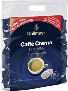 Dallmayr Caffe Crema Perfetto 100 Pads mild und aromatisch 100x7g