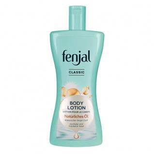 Fenjal Body Lotion Classic Natürliches Öl und klassischer Duft 400ml