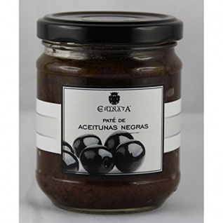 La Chinata Pate de Aceitunas Negras - Schwarze Olivenpaste, 180g