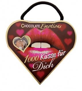 Günthart Chocolate Emotion 1000 Küsse für Dich Pralinen 5St a 45g