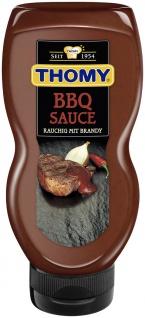 Thomy Grill Saucen BBQ Sauce mit Brandy und Rauchgeschmack 225ml 8er Pack