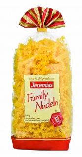 Jeremias Wellenband, Classic Frischei-Family-Nudeln, 4er Pack (4 x 500 g Beutel)