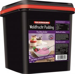 Naarmann Waldfrucht Pudding mit Sahne verfeinert servierfertig 5000g