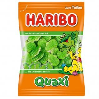 Haribo Quaxi Fröschli Fruchtgummi Frösche mit Schaumzuckerboden 200g